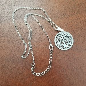 Jewelry - Tree Of Life Laser Cut Out Stainless Steel